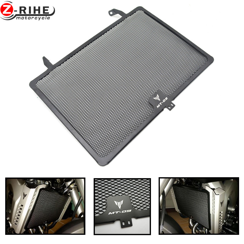 for Motorcycle Aluminum Radiator Guard Grill For Yamaha MT09 FZ09 2013 2014 2015 2016 XSR900 2016 2017 MT 09 FZ FJ09 13 14 15 16 motorcycle radiator protective cover grill guard grille protector for kawasaki z1000sx ninja 1000 2011 2012 2013 2014 2015 2016