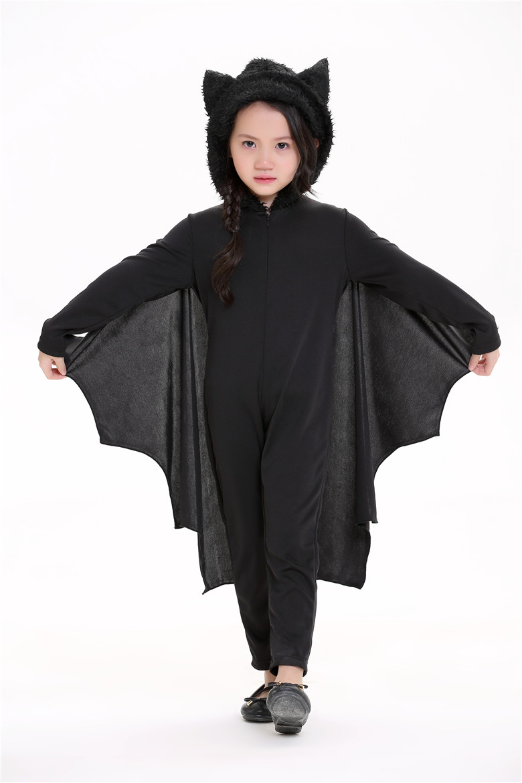 New Child Animal Cosplay Cute Bat Costume Kids Halloween -3518