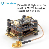 Holybro Kakute F7 F4 V2 Flight Controller Atlatl HV V2 FPV 5.8G TX Tekko32 35A Blheli ESC for RC Eachine HGLRC Racing Drone