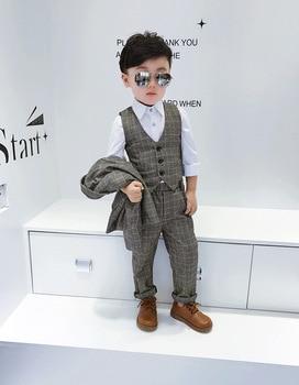 2018 high quality boys suits for weddings kids Blazer Suit for boy costume enfant garcon mariage jogging garcon suit for boys