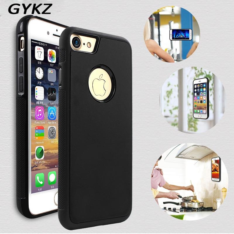 GYKZ Anti-gravity Phone Case För iPhone 6 6S Plus 5S SE Antigravity - Reservdelar och tillbehör för mobiltelefoner - Foto 1