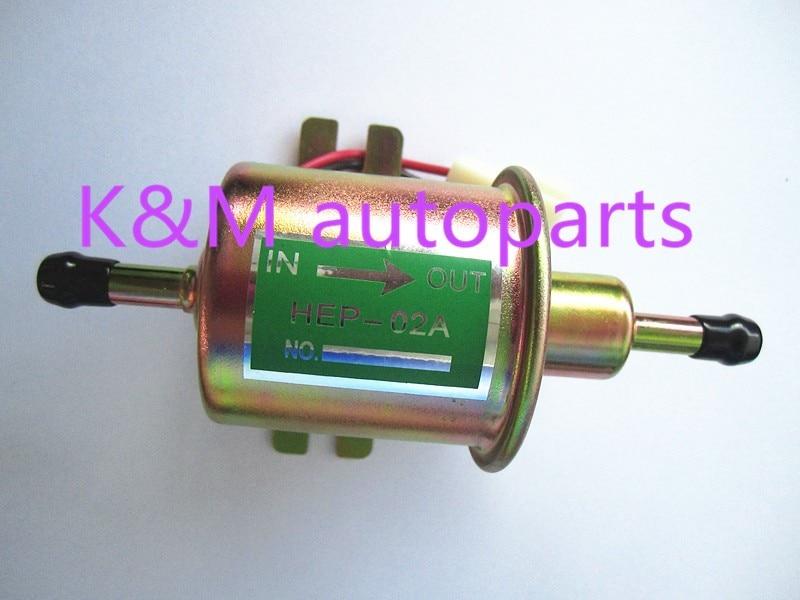 High quality free shipping Universal Diesel Petrol Gasoline Electric <font><b>Fuel</b></font> <font><b>Pump</b></font> HEP-02A <font><b>Low</b></font> Pressure 12V HEP02A