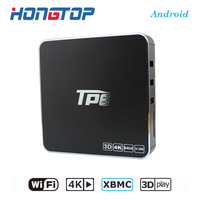 TP6 Black S905x 1 8G 6 Android Network Set Top Box 4K Ultra Clear TV BOX