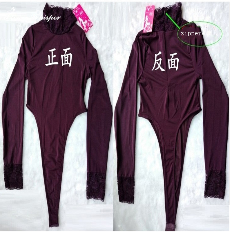 Sexy Lingerie Lady Lure Pajamas Halloween costumes for Women Ballet Underwear Nightwear Lenceria Bodysuit SY138
