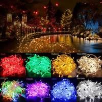 40 M 400 LED Luce Fata String Colorful Natale San Valentino Led String Festival Della Festa Nuziale Della Decorazione Lampada Spina di UE AC220V