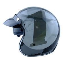 Torc t57 3/4 open face vintage scotter motorbike motorcycle helmet capacete cascos moto retro casque casco de motocicleta vespa