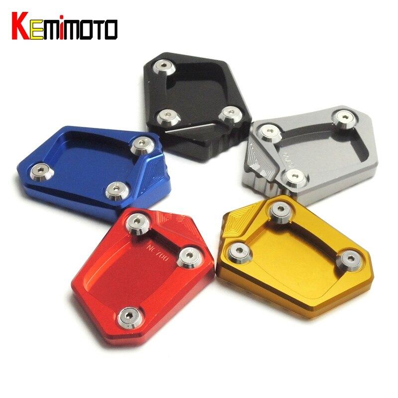 Kemimoto für honda nc700x nc700s nc700x nc700d integra cbr500r cb500f cb500x cnc ständer seitenständer platte pad vergrößern erweiterung