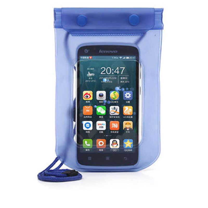 SRLEEKING الهاتف المحمول كيس مقاوم للماء غطاء تحت الماء للهواتف الذكية Univers المياه برهان ملحقات الهاتف المحمول وقطع الغيار