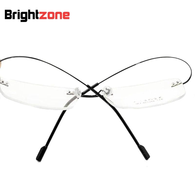 Hot Sale Ultra-light 9 colors fashion rimless glasses frames memory ...