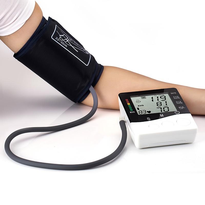 Household Health Care Automatic Digital Arm Blood Pressure Monitor Meter Blood Pressure Measurement Monitor Sphygmomanometer 9