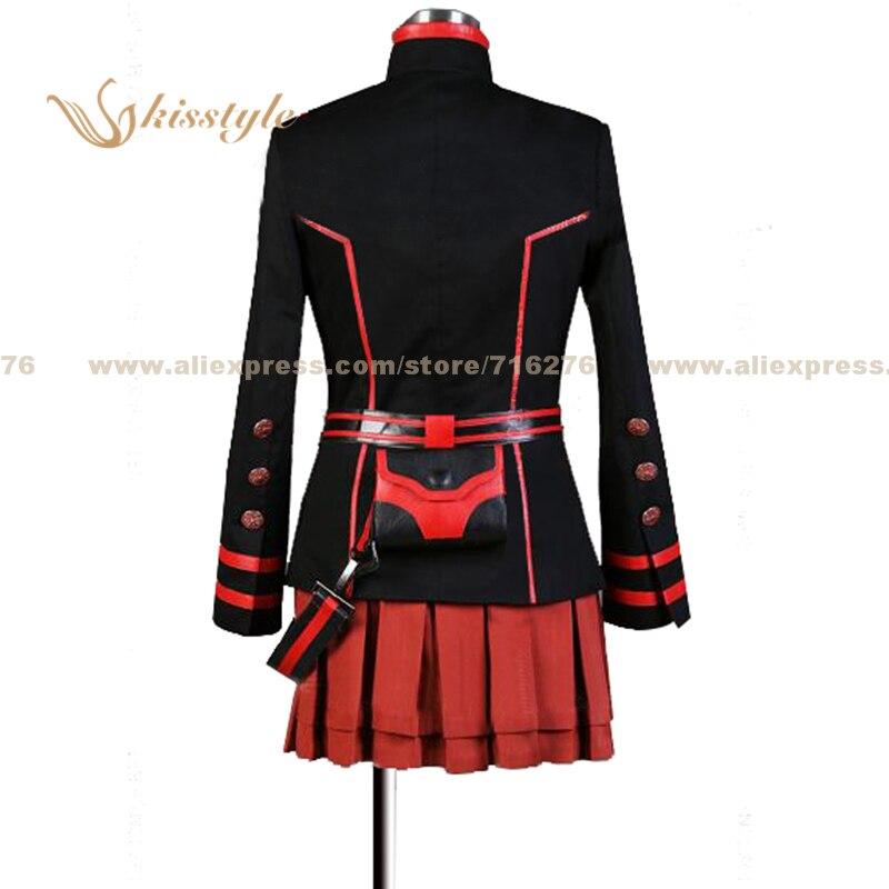 D.Gray-man Lenalee Lee 3G Uniform COS Cloth Cosplay Costume