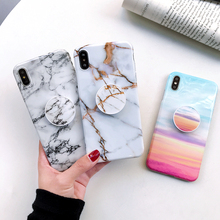 Marble Case For Samsung Galaxy A50 A30 A20 A10 Phone Cover S10 Plus S9 S8 Note 10 9 8 A6 A7 A9 EEMIA