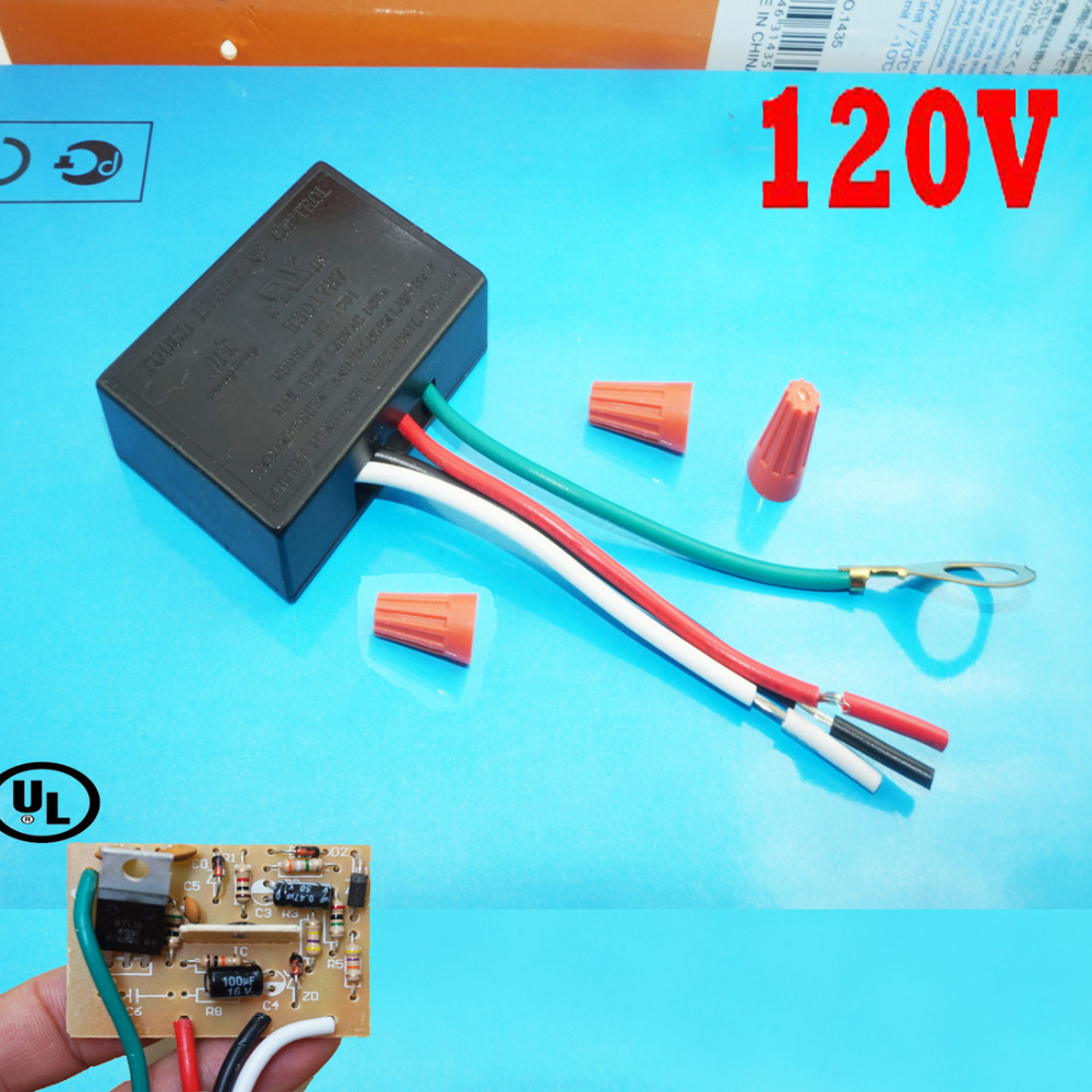 Us 3 51 12 Off Touch Lighting Control Mt 1001 120 V 150w 60hz Dimmer Halogen Tungsten Led Light In Tool Parts From Tools On Aliexpress