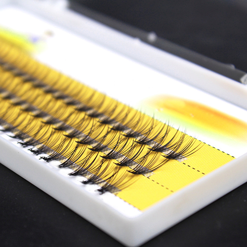 Women Pro Makeup 60 Pcs Clusters Beauty Eye Lashes Grafting Fake False Eyelashes Fast Shipping