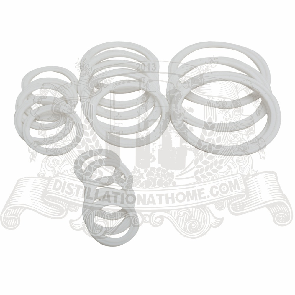 цена на 3- 6.5  Silicon gasket special for bubble plate 4. 5 pcs in set
