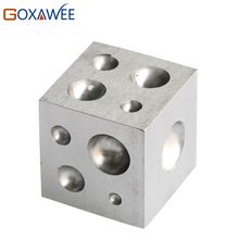 GOXAWEE Square Dapping Block For Jewelry Making Supplies Goldsmith Tools Lapidary Tools Jewelry Tool Equipments