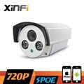 XINFI HD 720 P Видеонаблюдения POE Камера 1.0 МП Открытый Водонепроницаемый сети IP CCTV камеры P2P ONVIF 2.0 ШТ. и телефон удаленного просмотра