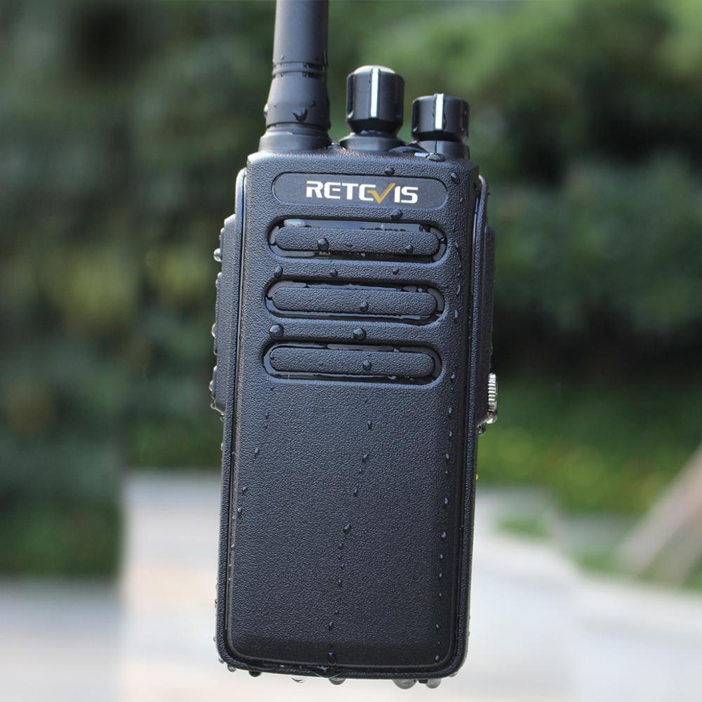 10W DMR Radio Retevis RT81 Powerful IP67 Waterproof Walkie Talkie UHF VOX Encryption Long Range Two Way Radio Handy Transceiver
