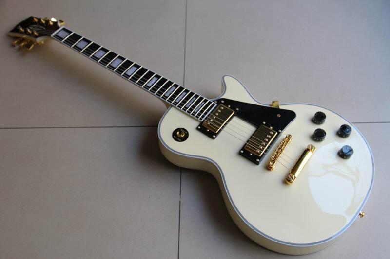Wholesale New Arrival Cibson lp custom 1960 electric guitar in light cream 111018