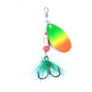 Image 1 - OLOEY 낚시 숟가락 세트 hard minnow glace glow grub fishing spinner gummifische 낚시 미끼 호수 플라스틱 Baits Pesca Isca