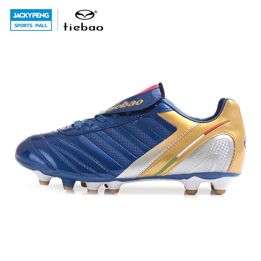 f6aefb2241 TIEBAO Profissionais Sapatos de Futebol Ao Ar Livre H   A Sola de Botas De Futebol  Homens Mulheres Athletic Shoes Chuteiras de futebol bola de futebol de ...