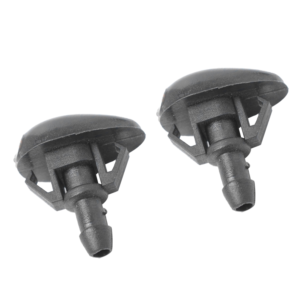 1 Pair Windshield Washer Fluid Spray Jet Nozzles for Nissan Frontier Xterra Efficiently prolong the Wiper blade life time in Windscreen Wipers from Automobiles Motorcycles
