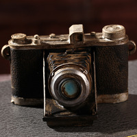 Shabby Chic Camera Vintage Home Decor Resin Crafts Home Decoration Accessories For Living Room Antique Art Collections