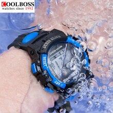 Waterproof Mens Sports Watches Relogio Masculino 2016 Hot Men Silicone Sport Watch Reloj S Shockproof Electronic Wristwatch