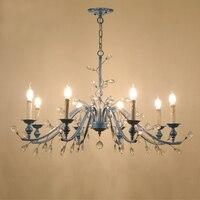 Contemporary Crystal Chandelier Bedroom Home Crystal Chandelier Modern Lustres De Cristal Living Room Indoor Lamp Decoration