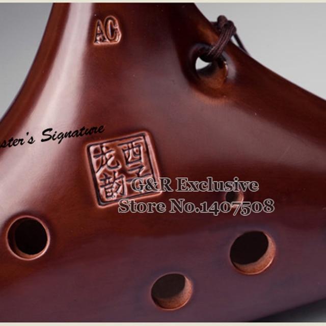 12 Loch Zelda Ocarina Of Time Chinesische Professionelle Bass Flöte Musikinstrument Alto Flauta Quer Instrumentos Musicais