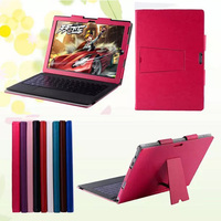 High Quality Luxury Crazy Horse Pattern Magnetic Folio Stand Leather Case Cover For Microsoft Surface Pro