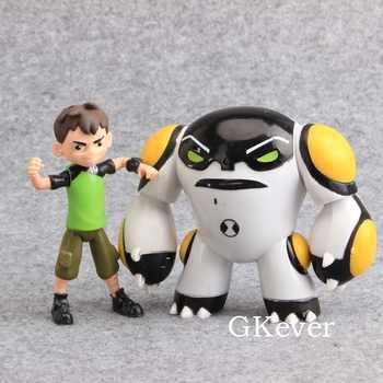 High Quality 9 Pcs/set Ben 10 PVC Action Figure Collectible Model Toy Dolls 3.5-12 cm Kids Gift