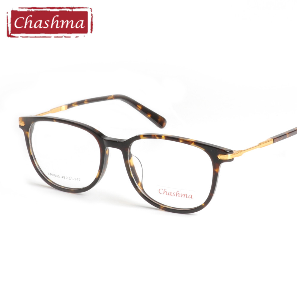 Chashma 2017 Eyeglasses Women and Men Acetate Quality Full Glasses Eyewear Fashion Prescripiton Trend Frame