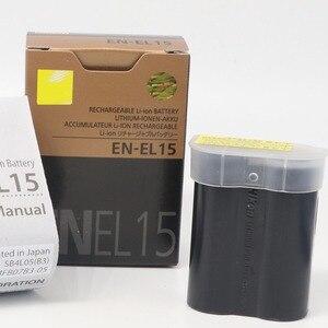 Image 5 - EN EL15 ENEL15 EN EL15 Pil Piller paketi Için nikon kamera D600 D610 D600E D800 D800E D810 D7000 7100 d750
