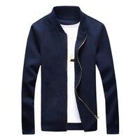 2016 New Sale Japan Style Spring Autumn Knitting Coat Fashion Solid Colors Men's Jacket Baseball Masculina Jackets Plus Size 5XL