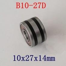10ピース/ロットB10 27D B10 50T自動ベアリング10*27*14ミリメートル自動車発電機軸受10 × 27 × 14 abec 5
