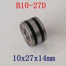 10 יח\חבילה B10 27D B10 50T גנרטור רכב אוטומטי נושאות 10*27*14mm מסבי 10x27x14 ABEC 5