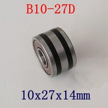 10pcs/lot   B10 27D   B10 50T Auto bearing 10*27*14 mm  Automotive generator bearings 10x27x14  ABEC 5