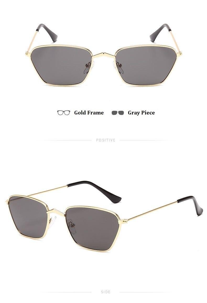 W stylu Vintage Punk okulary jasne kwadratowe okulary przeciwsłoneczne męskie Retro okulary przeciwsłoneczne dla kobiet nowy czerwony czarny żółty