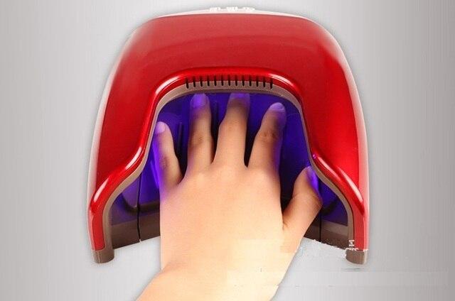 Led lampe für nägel watt uv nageltrockner für fuß nagel