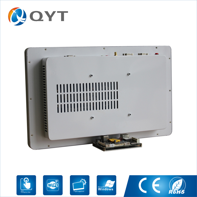 Industrial Computer Embedded pc 15.6 inch Intel N3150 1.6GHz 2GB DDR3 32G SSD Resolution 1366*768 With 2*RS232/4*USB цена