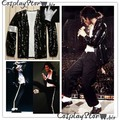 Michael Jackson Jacket and Glove Billie Jean Cosplay Costume
