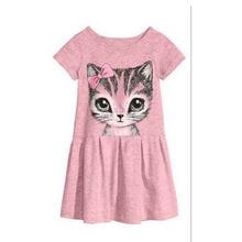 HOT Baby Girls Dresses Hello Kitty 2016 Brand Children Dresses For Girls Princess Dress Christmas Kids Clothes