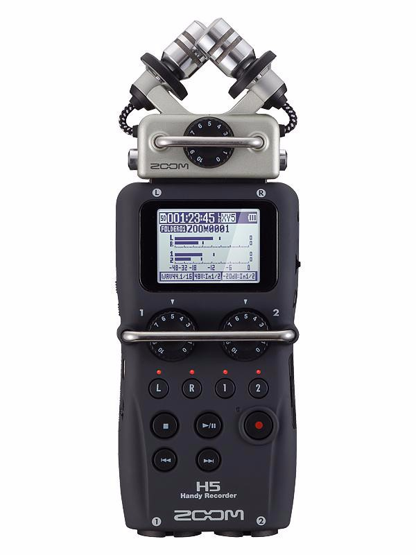 In stock ZOOM H5 professional handheld digital recorder Four Track Portable Recorder H4N upgraded version Recording