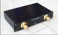 2019 Breeze Audio wersja high end dostosowane do niemiec MBL6010D czarna wersja przedwzmacniacze przedwzmacniacza AC110V/220 V opcjonalnie w Wzmacniacz od Elektronika użytkowa na
