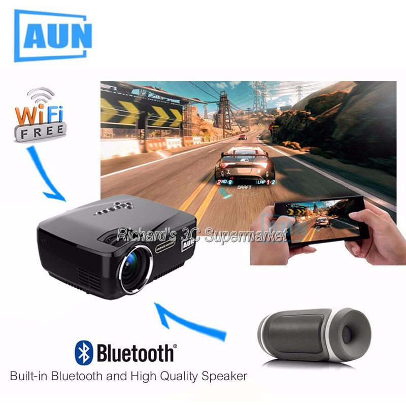 Wifi Projector Android TV Beamer Miracast Kodi AC3 Support Full HD 1080p Led Home Theater Mini Portable Proyector VS Everycom X7 шина dunlop sp winter ice01 195 65 r15 95t