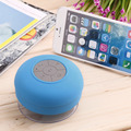 Ip4 subwoofer chamada música sucção chuveiro à prova d' água sem fio bluetooth speaker car handsfree mic para ios android phone