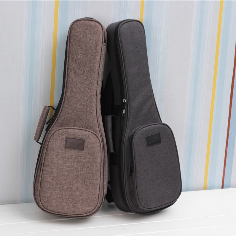 Ukulele Bag Case Backpack Handbag Thicken Soprano Concert Tenor 21 23 26 Inch Size Ukelele Mini Guitar Accessories Parts Gig 12mm waterproof soprano concert ukulele bag case backpack 23 24 26 inch ukelele beige mini guitar accessories gig pu leather