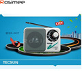 Digital Receiver Tecsun R-201T R201T Portable AM FM Radio High Sensitivity Pocket Receiver TV Sound 2-5CH Portable Speaker