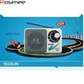 Receptor Digital Tecsun R201T R-201T Bolsillo Portátil AM FM de Radio de Alta Sensibilidad Receptor TV Sonido 2-5CH Portable Altavoz